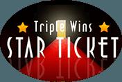 Triple Wins Star Ticket - игровые аппараты на деньги