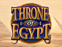 Играть в слот Египетский Трон на реальные деньги